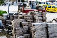Construções da reabilitação urbana Imagens de Stock