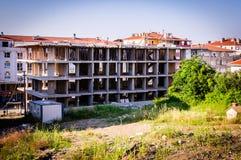 Construções da reabilitação urbana Fotografia de Stock