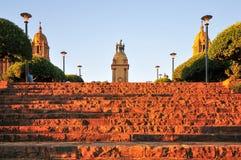 Construções da união, Pretoria no por do sol fotos de stock royalty free