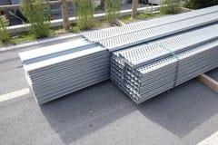 Construções de aço Fotografia de Stock Royalty Free