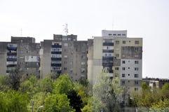 Construções de apartamentos Fotografia de Stock