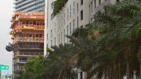 Construções de Brickell Miami sob a construção filme