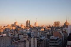 Construções de Buenos Aires Fotos de Stock Royalty Free