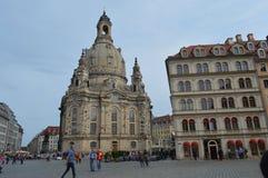 Construções de Dresden Fotografia de Stock Royalty Free