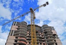 Construções de edifício Fotografia de Stock Royalty Free