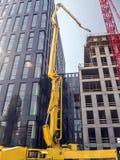 Construções de Highrise sob a construção imagem de stock