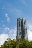 Construções de Manhattan, New York City, EUA Foto de Stock