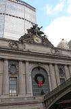 Construções de Metlife da estação de trem de Grand Central, EUA Fotografia de Stock Royalty Free