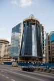 Construções de Moder com fachada de vidro Fotos de Stock Royalty Free