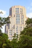 Construções de tijolo mais velhas altas em novo Fotografia de Stock Royalty Free