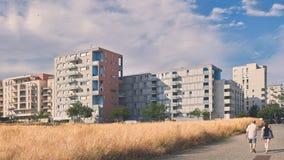 Construções de Vexin, cergy, france, Fotografia de Stock