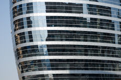 Construções de vidro do tecom de Dubai, United Arab Emirates Fotos de Stock Royalty Free