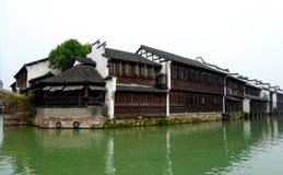 Construções de Wuzhen Fotografia de Stock