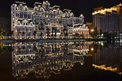 """Construções do †de Guiyang """"no centro da cidade de Guiyang imagens de stock"""