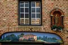 Construções do centro histórico de Bruxelas, Bélgica 1 Imagens de Stock Royalty Free