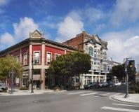Construções do estilo da arquitetura vitoriano Fotografia de Stock Royalty Free