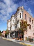 Construções do estilo da arquitetura vitoriano Fotos de Stock Royalty Free