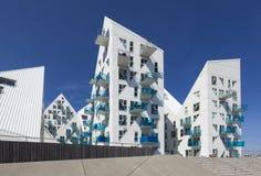 Construções do iceberg em Aarhus, Dinamarca Fotografia de Stock