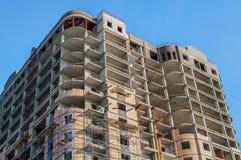 Construções do monólito-tijolo do quadro fotos de stock