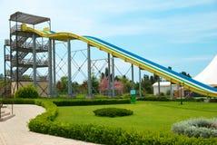 Construções do parque do Aqua Fotografia de Stock