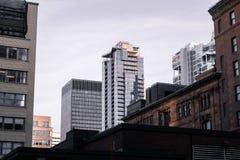 Construções do skyscrapper de Montreal foto de stock royalty free