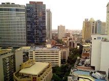 Construções e arranha-céus Foto de Stock Royalty Free