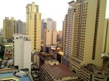 Construções e arranha-céus Fotografia de Stock Royalty Free
