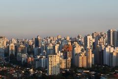 Construções e casas, Sao Paulo Fotos de Stock Royalty Free