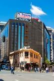 Construções e ruas de Joanesburgo fotografia de stock