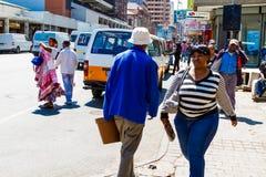 Construções e ruas de Joanesburgo imagem de stock royalty free