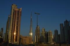 Construções em Dubai Imagem de Stock