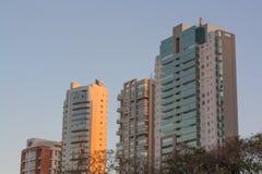 Construções em Goiania foto de stock