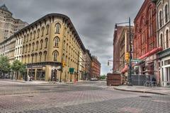 Construções em Grand Rapids imagem de stock