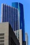 Construções em houston do centro Imagens de Stock