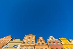 Construções em Jelenia Gora Fotos de Stock Royalty Free