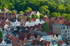 Construções em Lubeque Alemanha Imagem de Stock Royalty Free