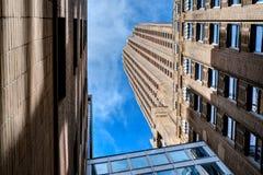 Construções em New York City Fotos de Stock Royalty Free