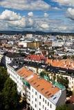 Construções em Oslo do centro 6 imagens de stock