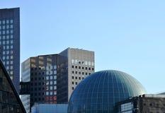 Construções em Paris, defesa do La Foto de Stock Royalty Free