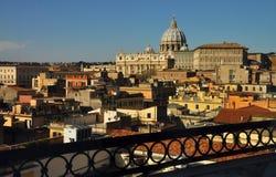 Construções em Roma e em Vaticano Fotos de Stock