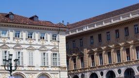 Construções em Turin Fotografia de Stock