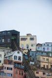 Construções em Valparaiso o Chile Imagem de Stock Royalty Free