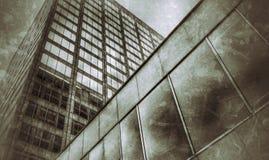 Construções escuras Fotografia de Stock Royalty Free