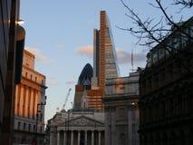 Construções famosas de Londres fotografia de stock