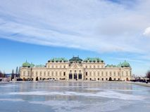 construções grandes em Viena Fotos de Stock