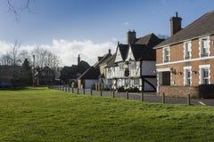 Construções históricas, Chartham, Kent, Reino Unido imagem de stock