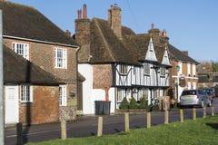 Construções históricas, Chartham, Kent, Reino Unido fotos de stock royalty free