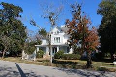 Construções históricas em Bern North Carolina novo imagem de stock