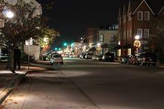 Construções históricas em Bern North Carolina novo imagem de stock royalty free
