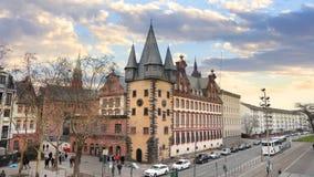 Construções históricas em Francoforte, Alemanha imagem de stock royalty free